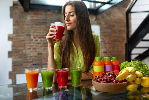 renkli içecekler
