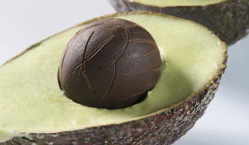 avokado ve çikolata