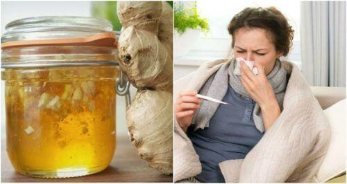 Soğuk Algınlığına Karşı Doğal Ballı ve Zencefilli Şurup