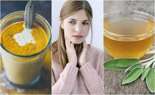 6 Doğal Malzeme ile Boğaz Ağrısı Çözümü
