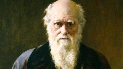 yağlı boya darwin portresi