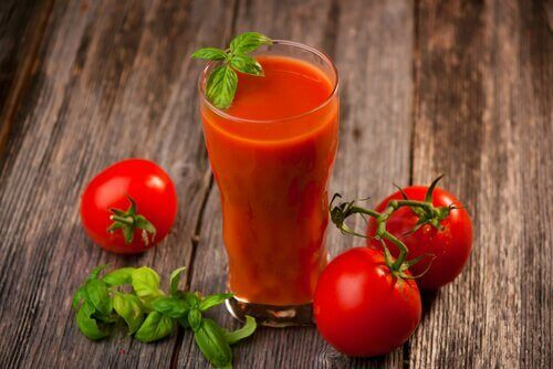 domates suyunda nane