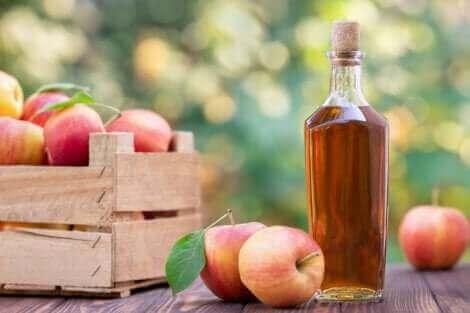 şişede elma sirkesi
