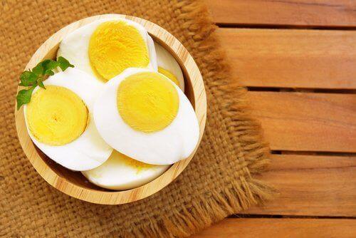haşlanmış yumurta