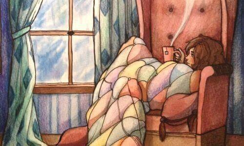 kahve ile koltukta dilenmek
