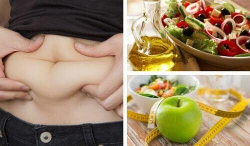 diyet öncesi ve sonrası