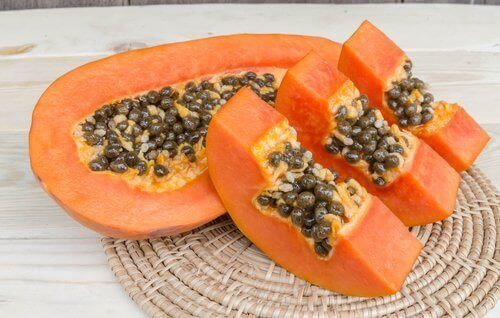 papaya ve mango maskesi