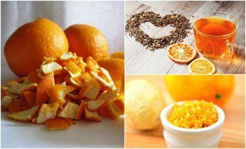 Portakal Kabuğunun Alternatif 5 Kullanımı