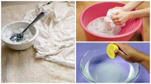 Sararan Kıyafetleri Beyazlatmak İçin 5 İpucu