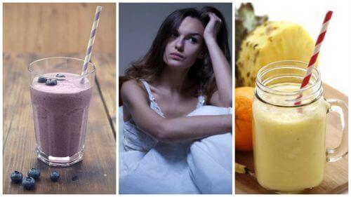 Bu 5 Doğal Smoothie İle Gece Vakti Sıcak Basmalarına Elveda Deyin