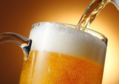 bira ile doğal saç kremi