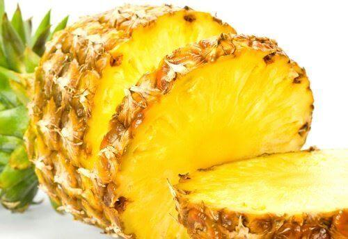 ananas dilimleri