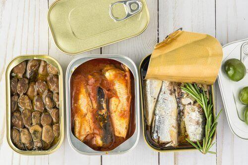 konserve balık