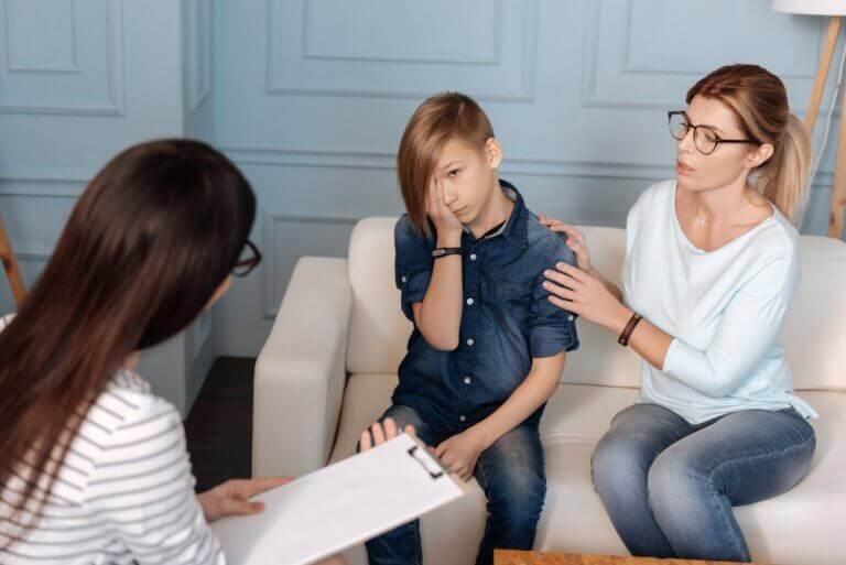 terapi gören aile