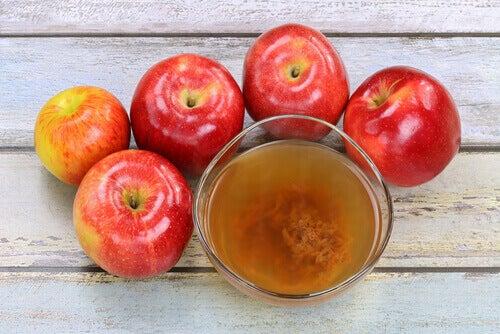 5 tane kırmızı elma