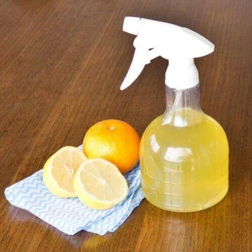 limon ve portakal sprey
