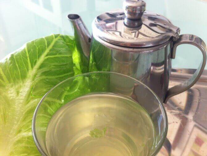 demlik ve marul çayı