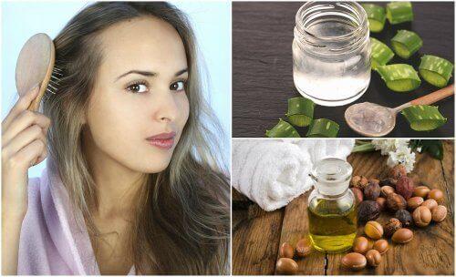 Seyrekleşen Saçlar İçin 5 Doğal Tedavi