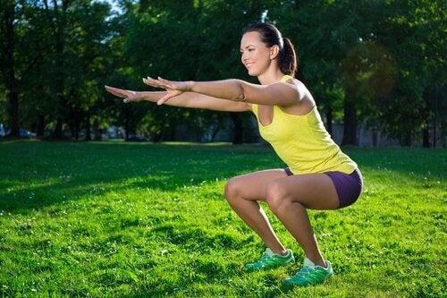 squat pozisyonu