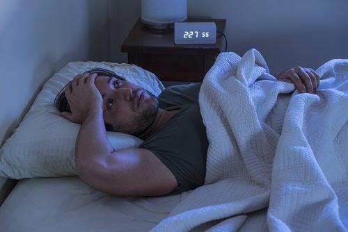 kafanıza bir şey takılınca stresli olur ve uyuyamazsınız