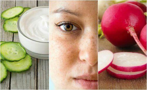 Yüzünüzdeki Lekeler İçin 5 Doğal Tedavi