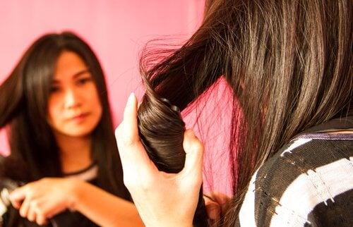 saçlara fön çekmek