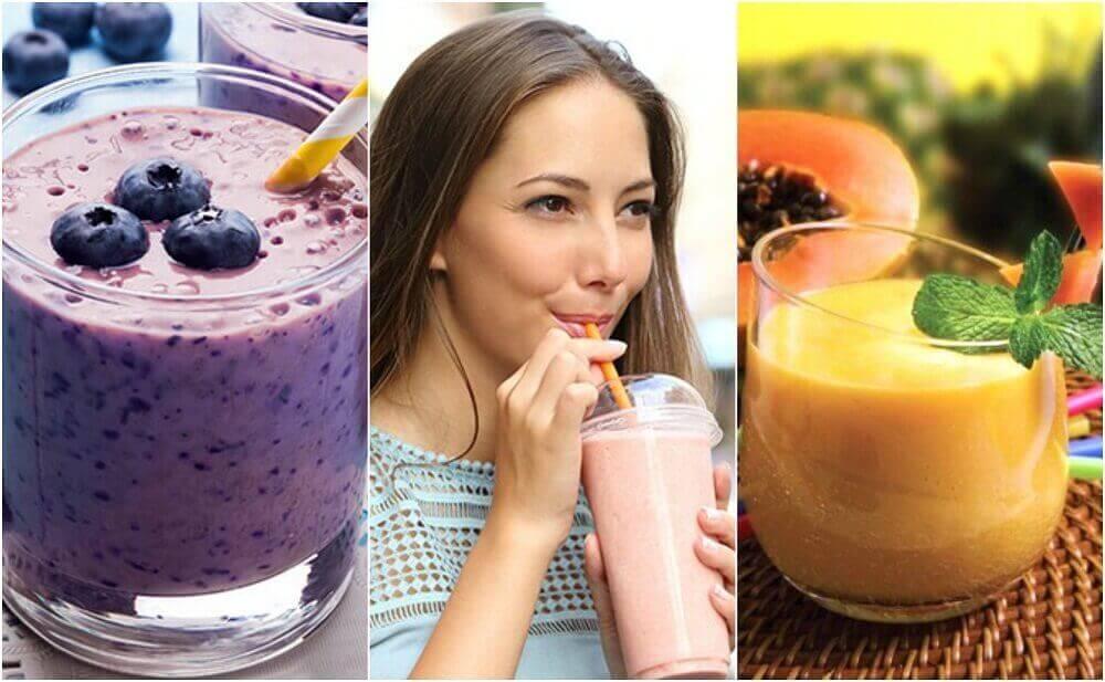 Kahvaltılarınız İçin 5 Sağlıklı Smoothie Tarifi
