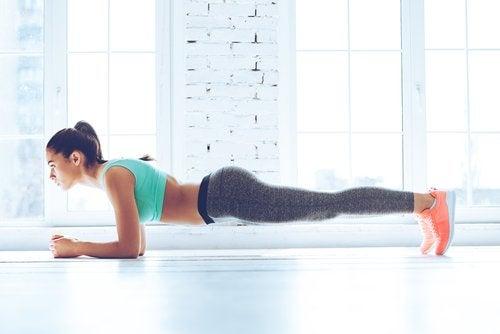 yağ yakma egzersizleri Plank egzersizi