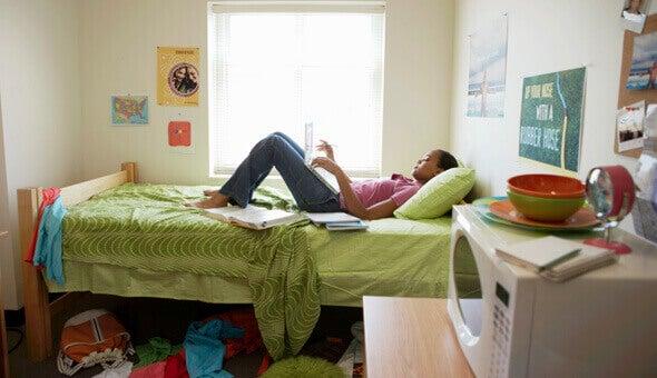 yatakta bilgisayar