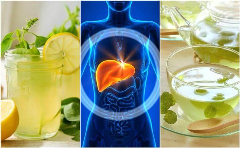 Karaciğerinizi Temizlemek İçin Bu 5 İçeceği Deneyin