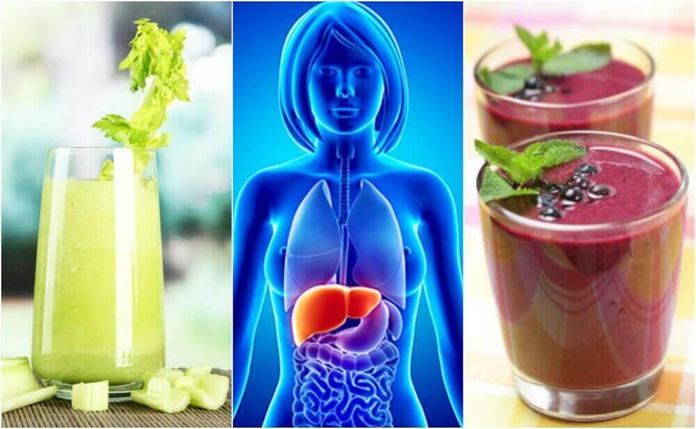 Meyve ve Sebzeli 4 Smoothie İle Karaciğerinizi Temizleyin