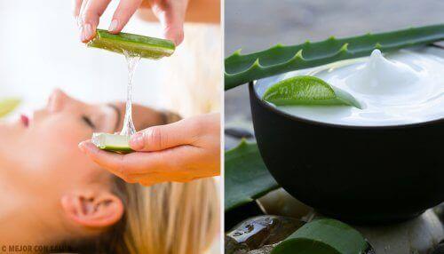 Aloe Vera içeren Doğal Makyaj Temizleyiciler