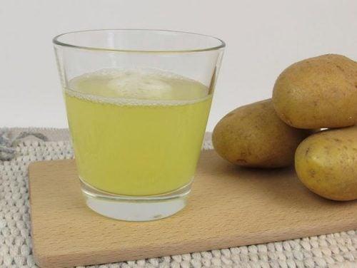 bardakta patates suyu