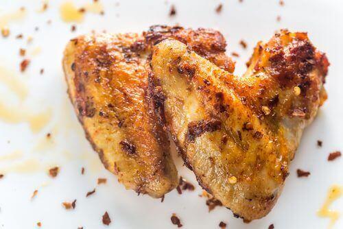 2 adet tavuk kanat