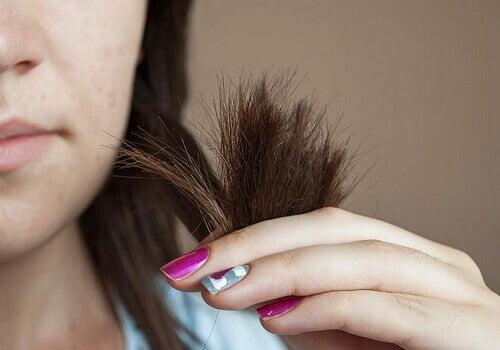 saç uçları