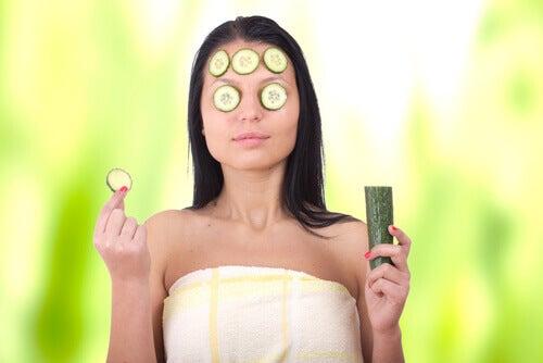 salatalık maske