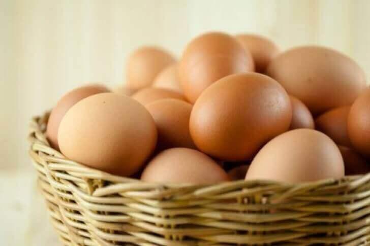 bir sepet yumurta