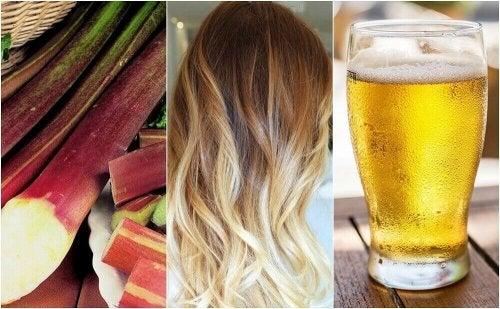 Saç Rengini Açmak İçin 5 Doğal Yöntem