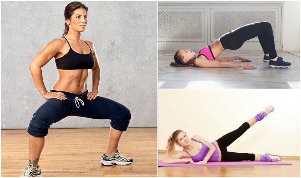 Evde Kolaylıkla Yapabileceğiniz 5 Kalça Sıkılaştırma Egzersizi