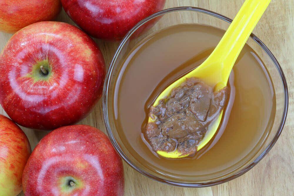 elma sirkesinin mayalanması