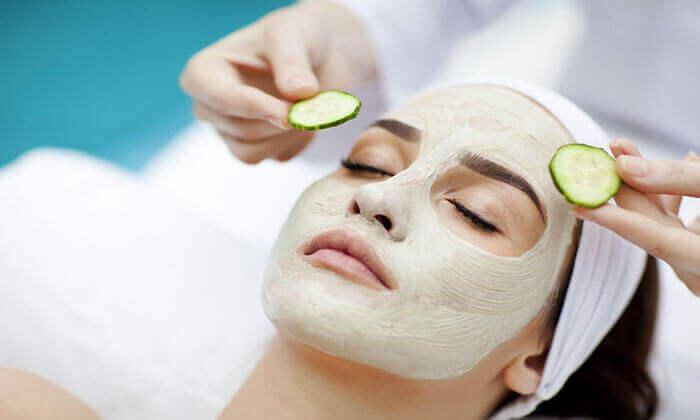 cilde salatalık maskesi