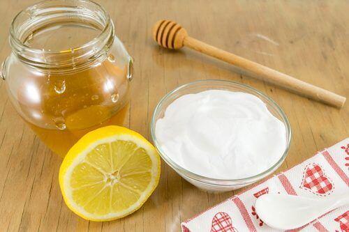 kabonat bal ve limon karışımı