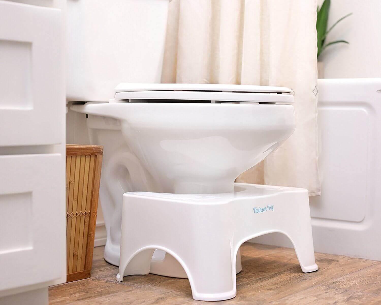 tuvalet ve tabure