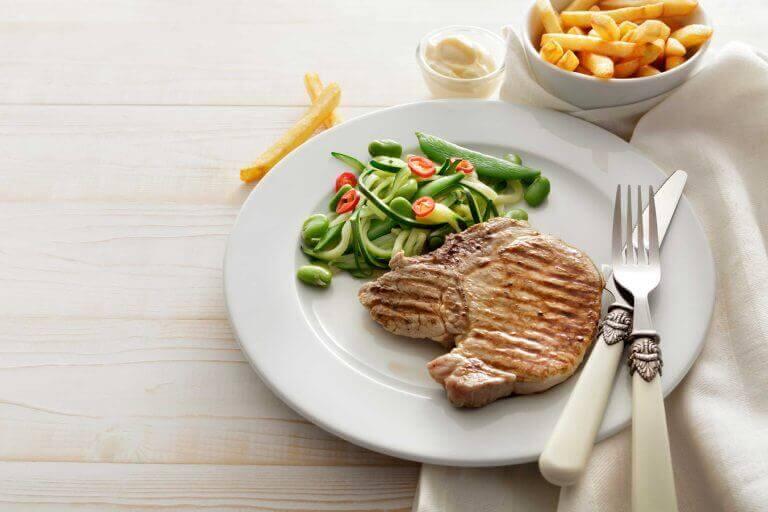 protein ve sebze