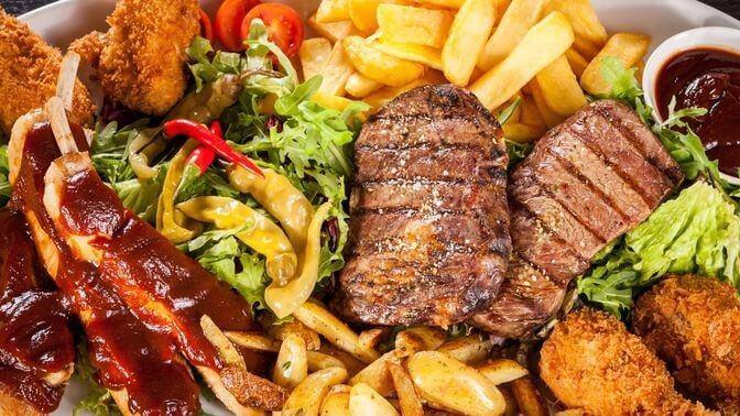 kötü kolesterolü düşürmek için kızarmış yiyecekleri azaltın