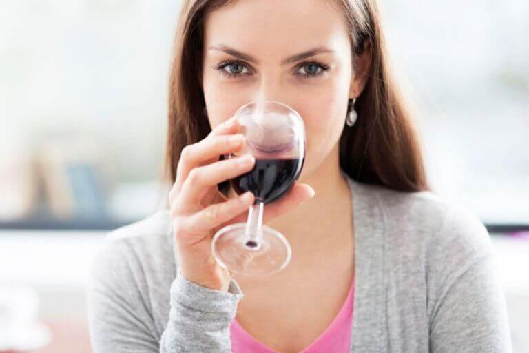 şarabı ölçülü tüketmek