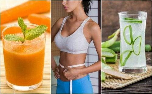 Karnı İnceltmeye Yardımcı 5 Meyve Suyu