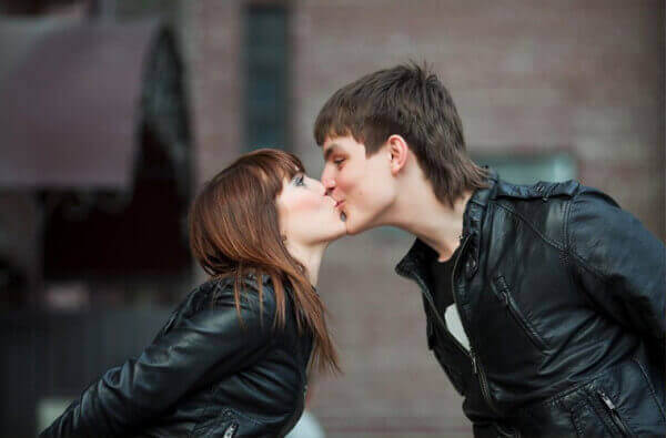 ufak bir öpücük