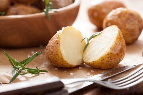 patates ve umeboshi