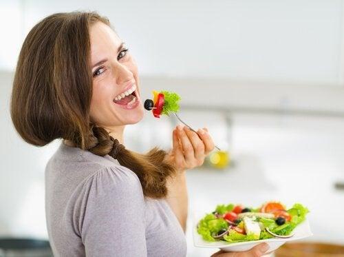 dolaşımınızı geliştirmek için sağlıklı beslenin